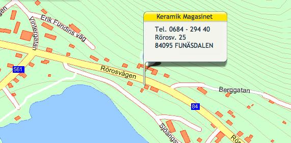 Magasinets Keramik i Funäsdalen